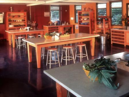 Edible Schoolyard Kitchen Classroom