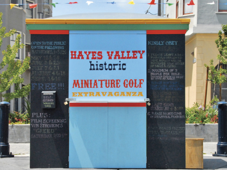 Hayes Valley Historic Miniature Golf Extravaganza